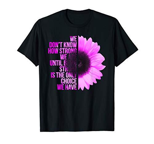 Brustkrebs-schwarz T-shirt (Brustkrebs-Frauen-rosa Band -Überlebend-Geschenk T-Shirt)