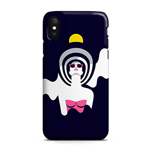 artboxONE Apple iPhone X Tough-Case Handyhülle Moonrise II von Sasha Lend - Tough-Case Handyhülle Smartphone Case