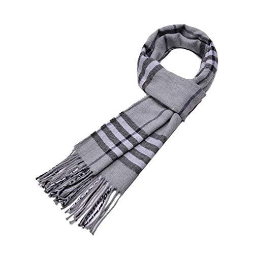 MINMINA Herrenmode Schal Herbst und Winter Mode Schal Wilden Karierten Schal...