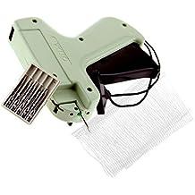 Pistola etiquetadora de Micro Trader, con 5 agujas de acero y 1000 púas de plástico