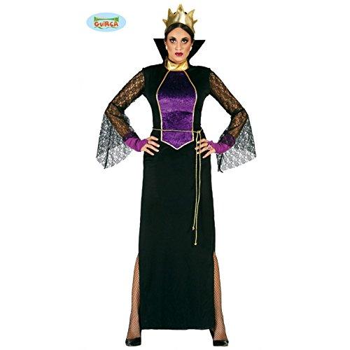 böse Stiefmutter Königin Kostüm für Damen Gr. M/L, - Märchen-kostüme Böse