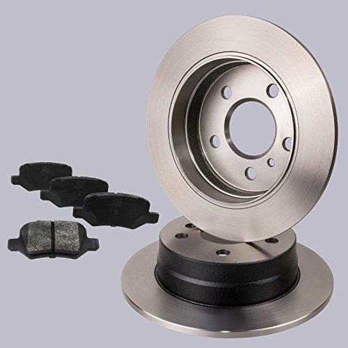 Preisvergleich Produktbild Fremax Set BD-0119 Bremsscheiben FBP-1214 Bremsbeläge für Hinterachse