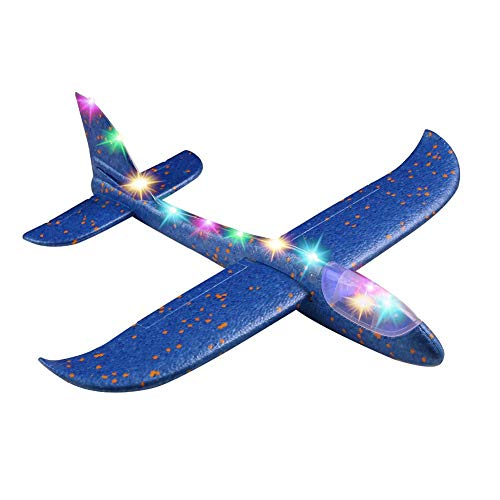 awhao Foam Airplane Toy, Hand Throwing Foam Glider Plan EPP Foam Plane Model Party Bag Fillers Kids Toys Fashionable