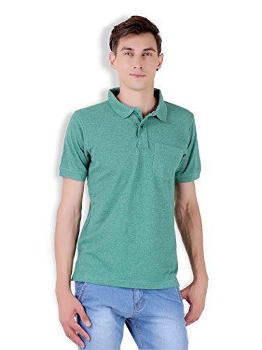 Tapasya Golf Green Polo T-Shirt