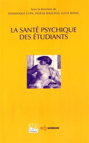 La sant psychique des tudiants