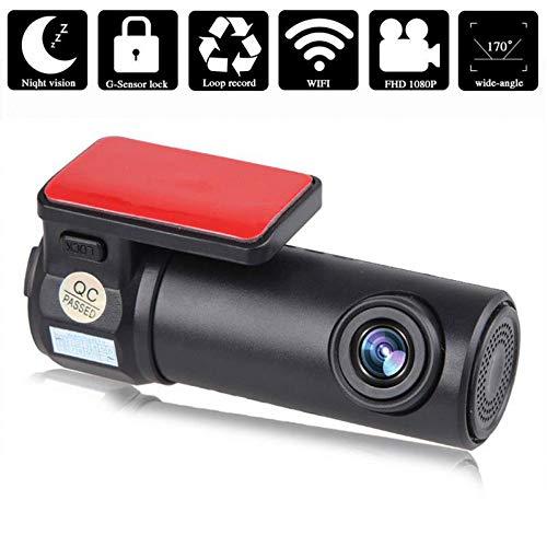 Autokamera, Mini versteckt 170 Grad Weitwinkel WiFi Nachtsicht-DVR-Auto-Videorekorder 1080P HD Fahrschreiber mit USB-Auto-Monitor-Auto-Kamera