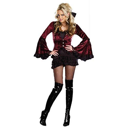 Kostüm Kostüme Vampir-Kostüm Teufel Frau Kostüm Schwarz,Size M