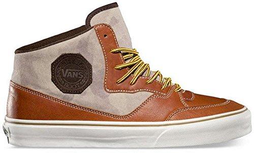 Vans California - Buffalo Boot leather henna camo