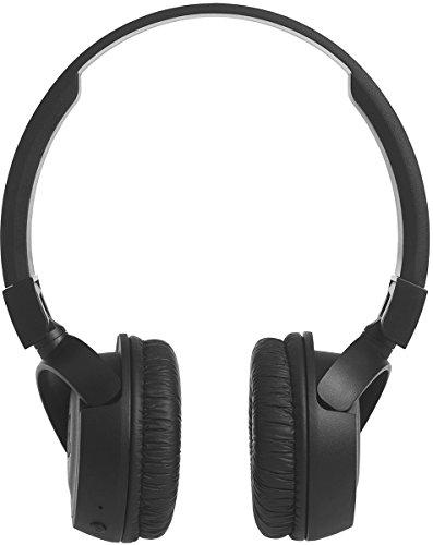 JBL T450BT Kabelloser On-Ear Bluetooth Kopfhörer mit Integrierter Musiksteuerung und Mikrofon Kompatibel mit Apple und Android Geräten -Schwarz - 5