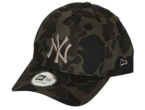 New Era Camouflage A-Frame Snapback Cap (One Size, New York Yankees)
