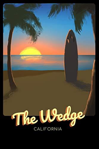 The Wedge California: Surfing Journal - Schedule Organizer Travel Diary - 6