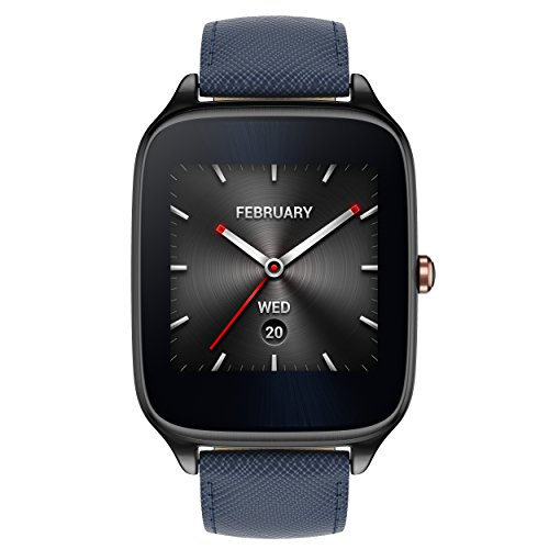 Asus Zenwatch 2 WI501Q-2LBLU0001 (4,1 cm (1,63 Zoll), Qualcomm Snapdragon, 320 x...
