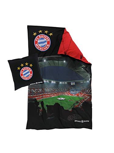 FC Bayern München Bettwäsche Allianz Arena, Wendebettwäsche 135x200 cm