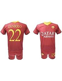 0ebca20a8a Completo Zaniolo Roma Ufficiale 2018/2019 AS Roma Adulto Bambino Maglia +  Pantaloncini con Numero