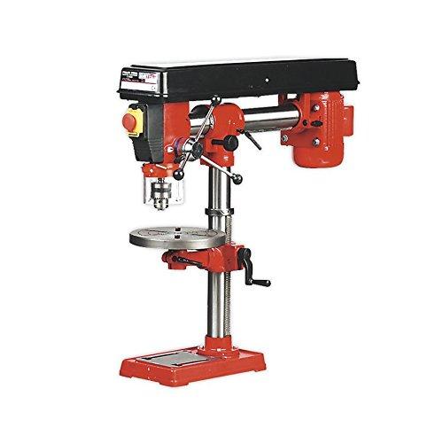 Sealey GDM790BR Säulen-Radialbohrmaschine Tischbohrmaschine mit 5 Geschwindigkeiten