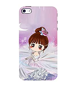 Ifasho Princess Girl Back Case Cover For Apple Iphone 4S