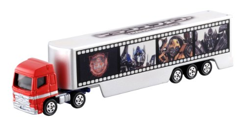 Tomica Optimus Prime with Trailer Wrap Die-Cast Vehicle (japan import)