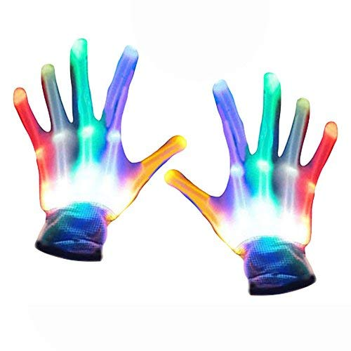 TOPTOY 4-5 Year Old Boy Toys, Flashing Finger Gloves Party Favors Gifts Toys for 3-12 Year Old Girls 3-12 Year Old Kids Toys 2018 Chritmas new gifts stocking fillers TTUKTTH01