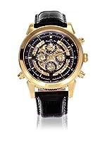 Lindberg & Sons Herren-Reloj analógico de Pulsera automático de Cuero SK14H015 de Lindberg&Sons