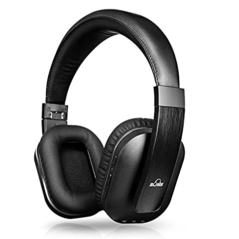 iDeaUSA (Etui Founi) Casque TV Bluetooth Audio Sans Fil Pliable