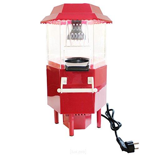 [lux.pro] Máquina de hacer palomitas - Popcorn Machine - Popcorn Maker - rojo
