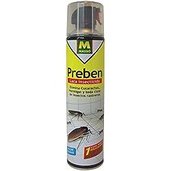 MASSO 230080 Laca insecticida Rastreros, Transparente, 6.5x29.5x6.5 cm