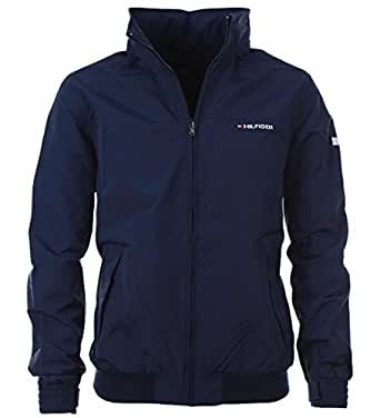 tommy hilfiger yachting jacke bergangsjacke windbreaker dunkelblau gr e l bekleidung. Black Bedroom Furniture Sets. Home Design Ideas