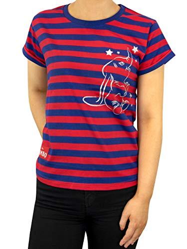 Disney Camiseta para Mujer Dumbo Azul Tamaño XX-Large