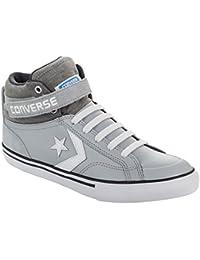 Kentti Sneaker a Collo Alto, Scarpe da Ginnastica Sportive in Tela Alte Unisex-bambini Nero 33 EU/1 UK
