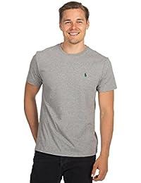 Ralph Lauren Maglietta Polo T-Shirt Uomo Classic Fit Girocollo Cotone 37eb153fe372