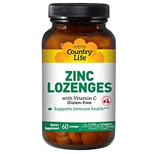 Zinc (Amino Acid Chelate), 50 MG, 100 Tabs by Country Life (Pack of 2)