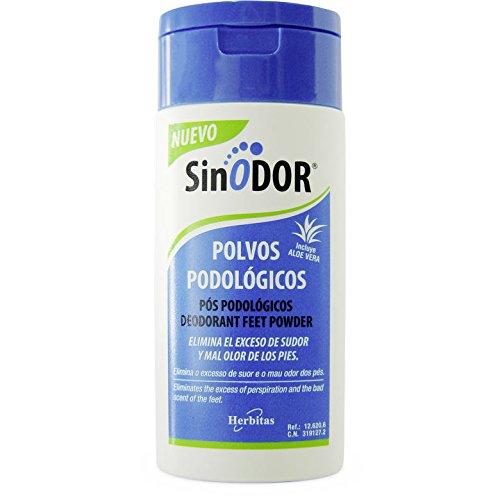 Polvo Desodorantes para pies y Calzado 80 grs SINODOR Incluye guia para el cudadao del Pie GRATIS