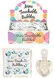 Bolle di sapone per matrimonio Touchable Bubbles, confezione da 48 flaconcini