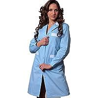 Bata de trabajo para mujer, ideal para camarera / asistente de limpieza / empleada de