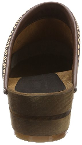 Sanita Damen Othine Open Clogs Schwarz (Black)