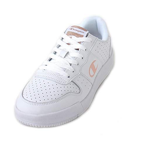 Champion RLS Leather Low Cut Shoe Women wht, Größe:37 (Schuhe Womens Tennis Größe 5)
