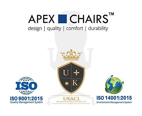 APEX CHAIRS Apollo Chrome Base High Back Chair
