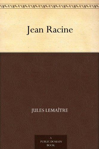 Couverture du livre Jean Racine