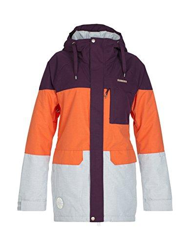Zimtstern Damen Snow Jacket Millez, Plum, XS