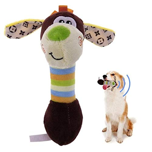 oy Cute Pet Dog Chews Toy Animals Dog Puppy Toy Tooth Squirrel Dog Chewsqueaks One Size 2 ()