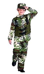 Boland 82187-Disfraz para niños Soldado
