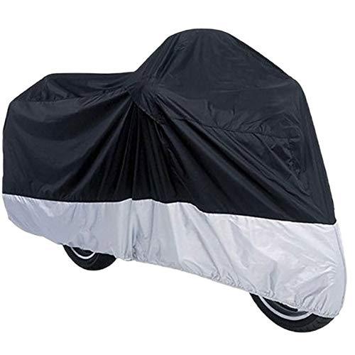Zonfer 190T Von Motorrad Universal Outdoor Motorrad Abdeckung Wasserdichten Staubdichter UV-Schutzhülle Motor-Regen-Mantel Für All Season