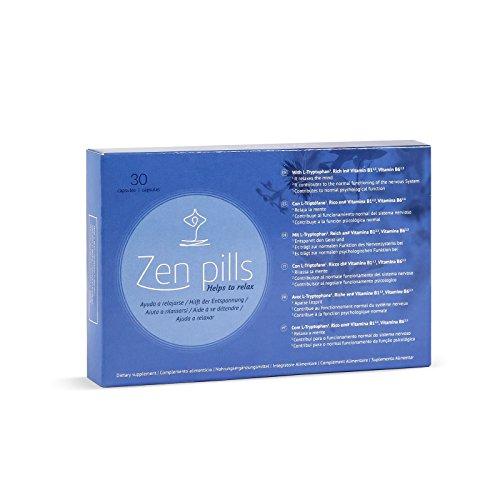Zen pills - : cápsulas relajantes para controlar la ansiedad
