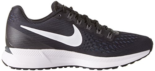 Nike Wmns Zoom Air Pegasus 34, Scarpe Running Donna Nero (noir / Blanc / Gris Foncé / Anthraci)
