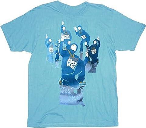 Jabbawockeez dance stack t-shirt avec logo bleu - Bleu -