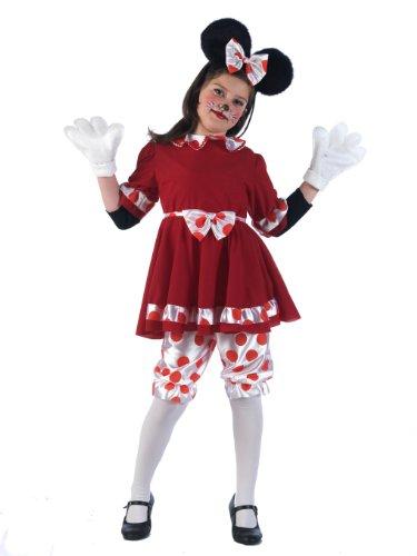 Limit Sport MI712 Grösse - Disfraz de ratón para niña (talla 3)