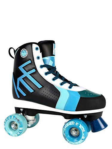 KRF The New Urban Concept Street Patines Paralelo 4 Ruedas, Azul, 37