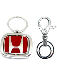 City Choice New Combo Of Honda Revolving & Hook-Locking KeyChains