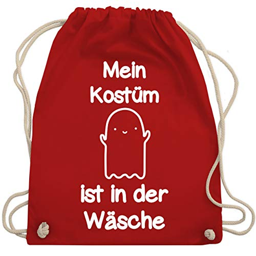 Halloween - Mein Kostüm ist in der Wäsche Gespenst - Unisize - Rot - WM110 - Turnbeutel & Gym ()