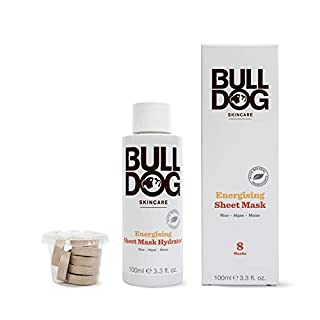 Bulldog Skincare Bulldog Energising Bamboo Sheet Mask for Men